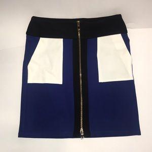 INC zipper skirt